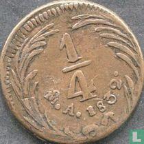 Mexico ¼ real 1832 (Mo)