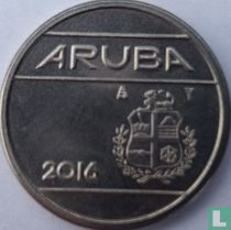 Aruba 25 cent 2016 (sails of a clipper without star)