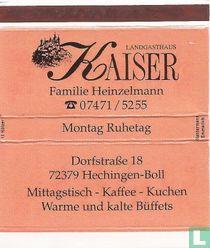 Landgasthaus Kaiser