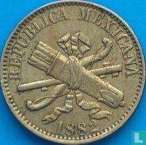 Mexico 5 centavos 1882