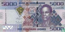 Sierra Leone 5.000 Leones 2013