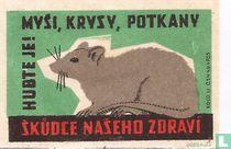 Mysi, krysy, potkany - skudce naseho zdravi