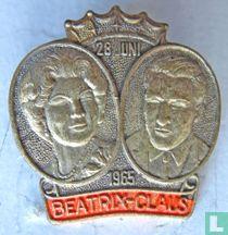 28 juni 1965 Beatrix-Claus (goud kleur)