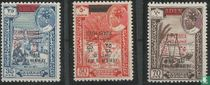 Briefmarken mit Aufdruck