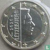 Luxembourg 1 euro 2020 (Sint Servaasbrug)