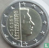 Luxembourg 2 euro 2020 (Sint Servaasbrug)