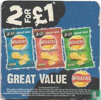 Walkers 2 for £1 Great Value