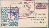 1e Reis S.S. DELTARGENTINO van New Orleans naar Buenos Aires