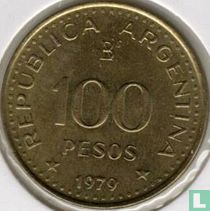 "Argentinië 100 pesos 1979 ""100th anniversary Conquest of Patagonia"""