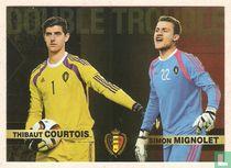 Thibaut Courtois - Simon Mignolet