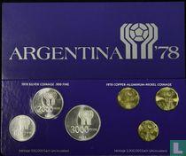 "Argentinië jaarset 1978 ""Football World Cup in Argentina"""