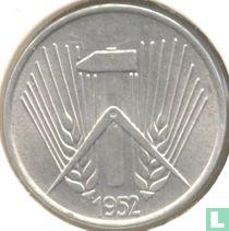 DDR 1 pfennig 1952 (kleine A)