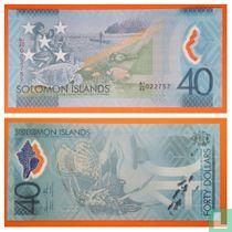 Solomon Islands 40 Dollars