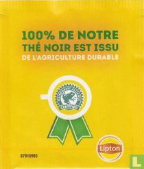 100% De Notre Thé Noir Est Issu