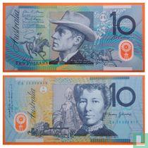 Australië 10 Dollars 2015