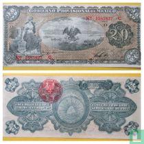 Mexico Regionaal  20 Peso 1914 VERA CRUZ