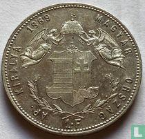 Hongarije 1 forint 1869 (KB)