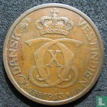 Deens West-Indië 1 cent / 5 bit 1913