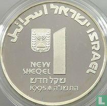 "Israël 1 nieuwe sheqel 1995 (JE5755) ""47th anniversary of Independence"""