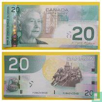 Canada 20 Dollars 2009