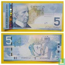 Canada 5 Dollar 2010