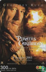Pirates of the Caribbean Geoffrey Rush