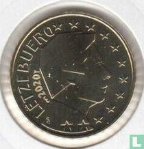 Luxembourg 50 cent 2020 (Sint Servaasbrug)