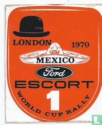 Ford Escort Mexico World Cup Rally 1970