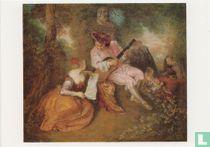 """""""La Gamme d'Amour"""", 1717"""