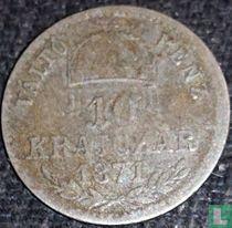 Hongarije 10 krajczar 1871 (GYF)