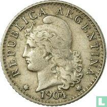 Argentina 5 centavos 1904