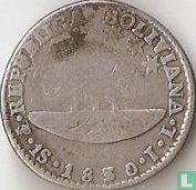 Bolivia 1 sol 1830 (JL)