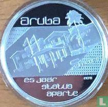 "Aruba 5 florin 2011 (PROOF) ""25th anniversary Status Aparte"""