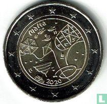 """Malta 2 euro 2020 (zonder muntteken) """"Children's game"""""""