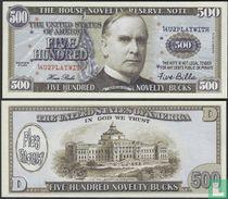 Mc kINLEY 500 NOVELTY BUCKS