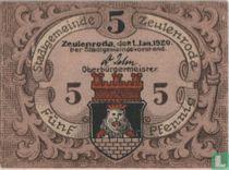 Zeulenroda 5 Pfennig 1920