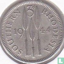 Zuid-Rhodesië 3 pence 1944