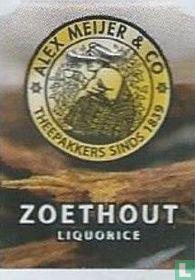 Alex Meijer & Co Koffiebranders sinds 1839 Zoethout Liquorice