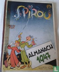 Spirou almanach 1947