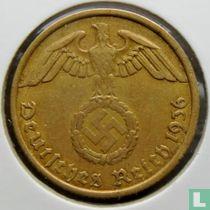 Duitse Rijk 10 reichspfennig 1936 (hakenkruis - A)
