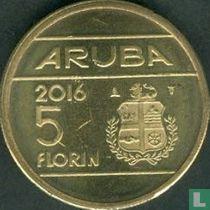 Aruba 5 florin 2016