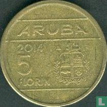 Aruba 5 florin 2014