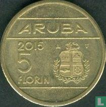 Aruba 5 florin 2015