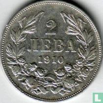 Bulgarije 2 leva 1910