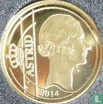 """Belgium 12½ euro 2014 (PROOF) """"Queen Astrid"""""""