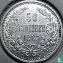 Bulgarije 50 stotinki 1883