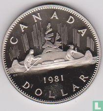 Canada 1 dollar 1981 (PROOF)