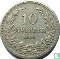 Bulgarije 10 stotinki 1906