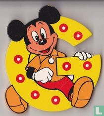 Disney Letters : G: Mickey Mouse