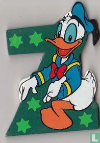 Disney Letters: Z: Donald Duck